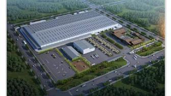 成工重工在欧美产业园二期项目土地上开工场平